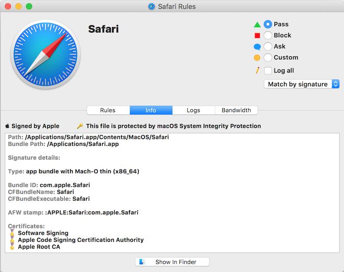 Vallum - macOS Application Firewall